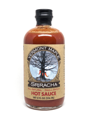Sriracha a base de Sirop D'erable