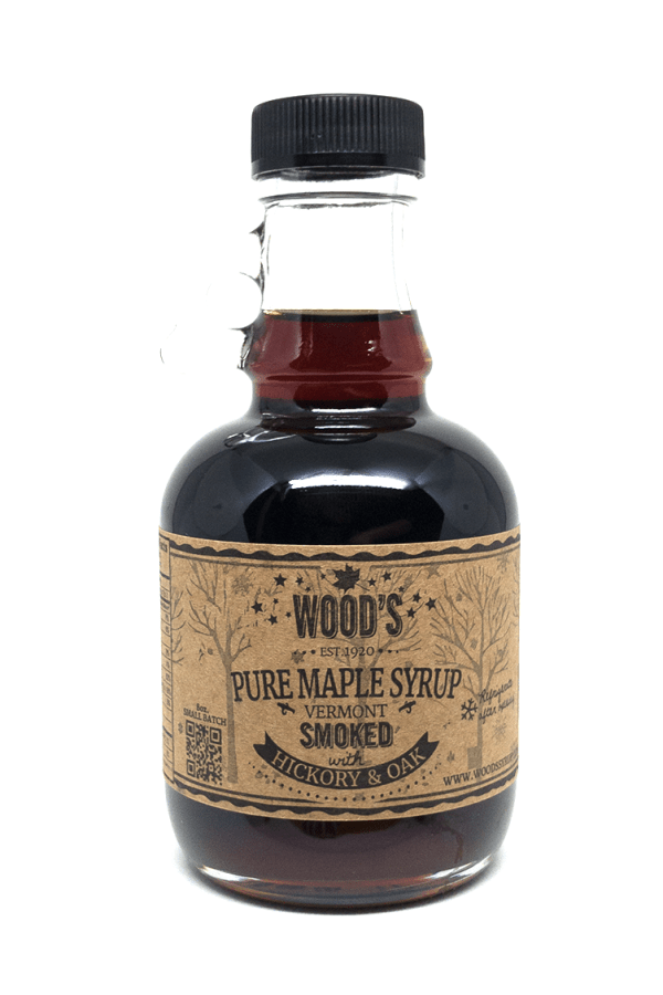 Wood's Smoked Maple Syrup with Hickory & Oak