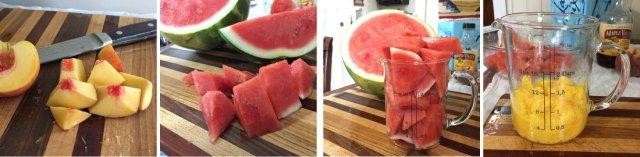 Fruit cut up