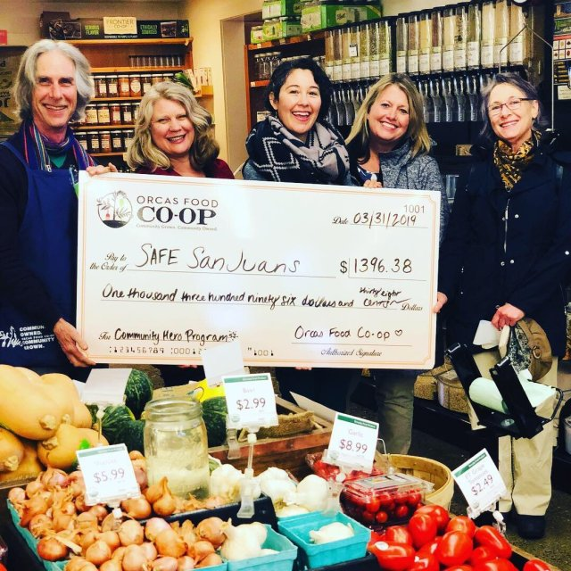 The Co-op's Community Hero Program raises funds for a selected community partner each month.