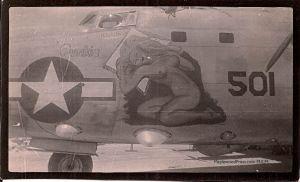 #59501 PB4Y-2, Squadron VPB-109. Artist Hal Olsen