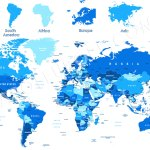 World Map Map Of The World And Countries