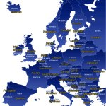 Map Of Official Languages Of Europe Map Of Europe Europe Map