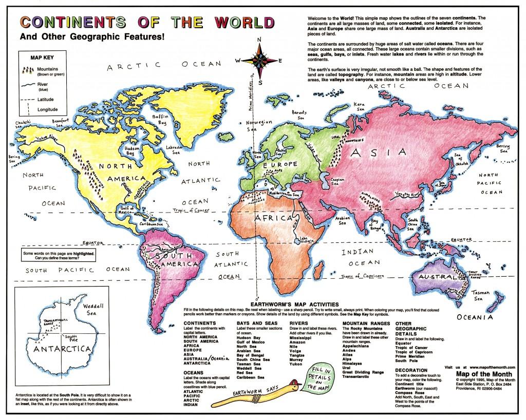 Continent Basics