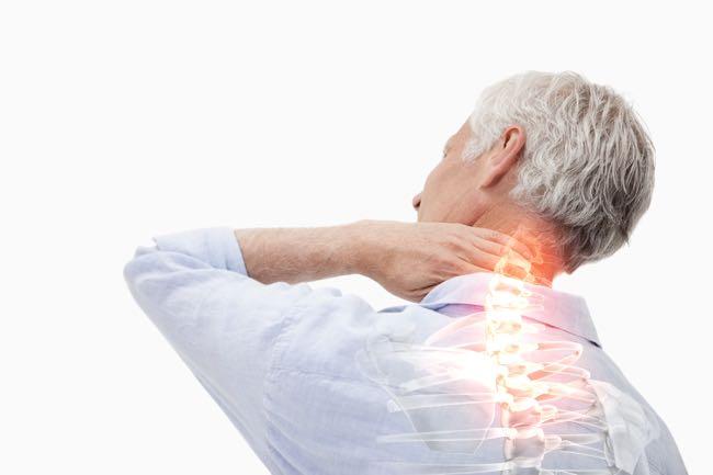 Douleurs cervicales et dos