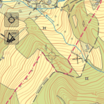 WMS - Czech Republic - Topographic map