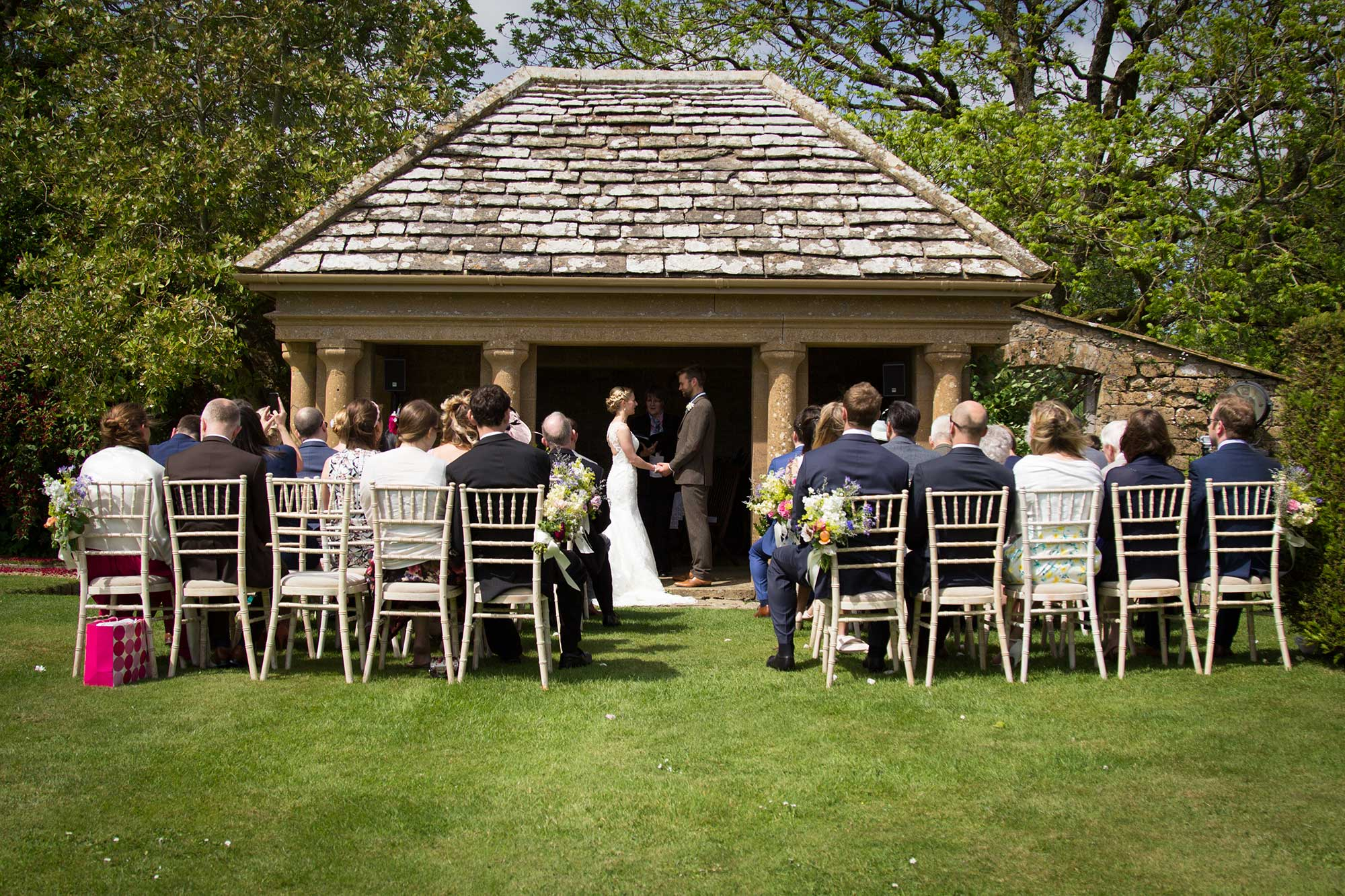The Croquet Pavilion at Mapperton - Dorset Wedding Venue