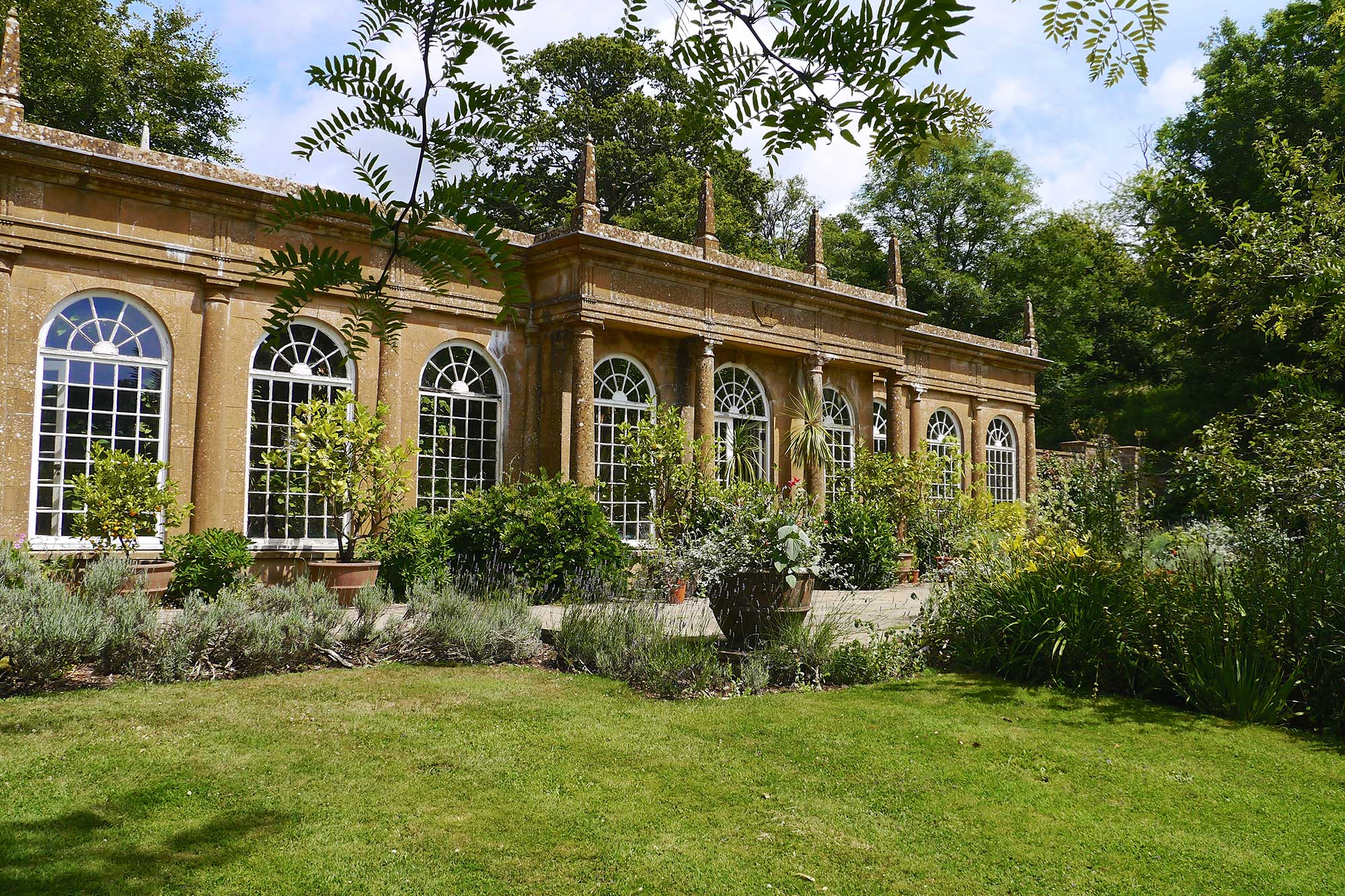 The Orangery at Mapperton - wedding venue in Dorset