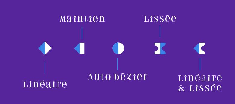 Les différentes clés d'animation_Mapping-Motion