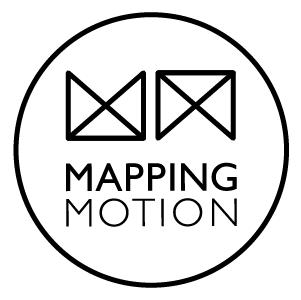 Mapping Motion logo - Outline
