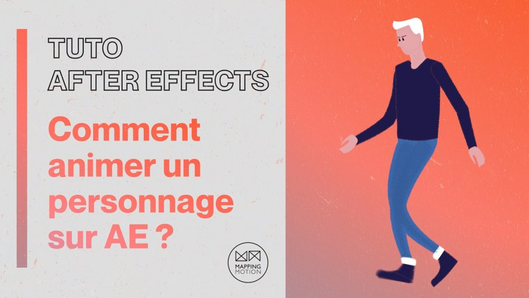 Comment Animer un personnage avec After Effects et Duik Bassel ? - Mapping Motion
