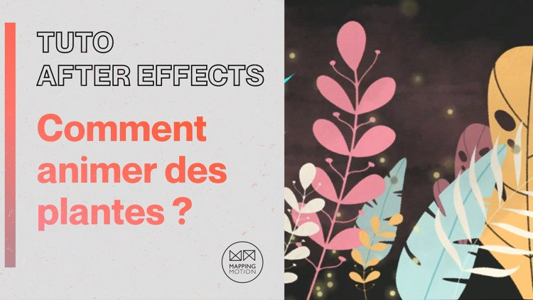 Mapping motion - Animer des plantes sur After Effects ?