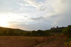 Sunset in Monteriggioni
