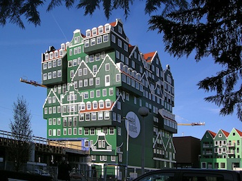 Inntel hotel zaandam quirky design hotel outside amsterdam for Designhotel 21