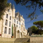 Luxurious wine chateau in Languedoc, France