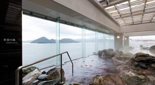lake view toya onsen