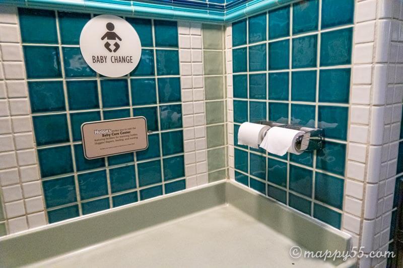 カリフォルニアにあるアナハイムディズニーのトイレ