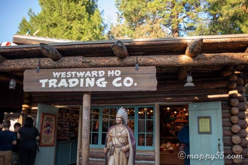 カリフォルニアにあるアナハイムディズニーランドのトレイディングカンパニー