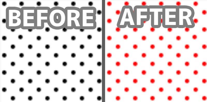 Photoshopのパターンで塗りつぶし