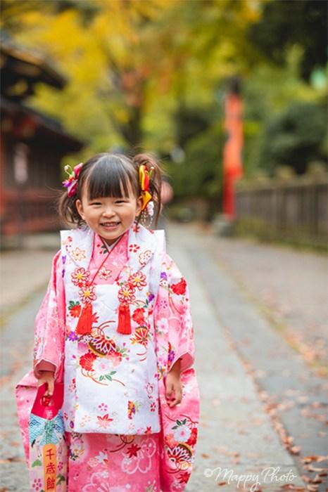 七五三 根津神社 3歳 女の子