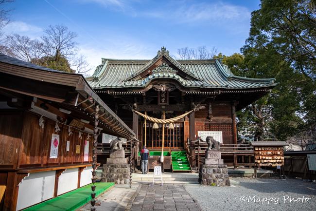 群馬 桐生天満宮 神社
