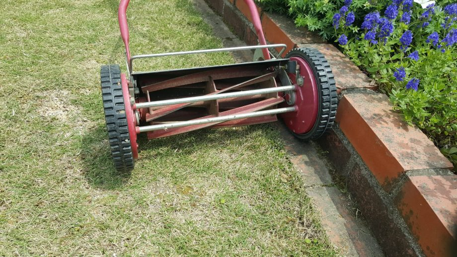芝刈りハサミを不要にする方法例