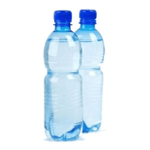 garrafa de água mineral 500ml