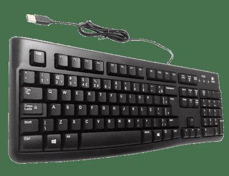 TECLADO LOGITECH K120 USB COM FIO