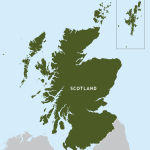 Scotland Outline Map Royalty Free Editable Vector Map Maproom
