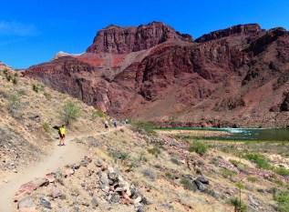 Aufstieg Grand Canyon