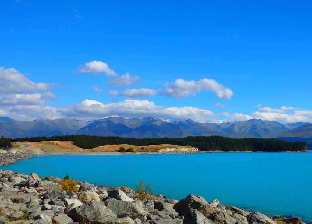 Lake Pukaki Reiseroute Neuseeland 4 Wochen