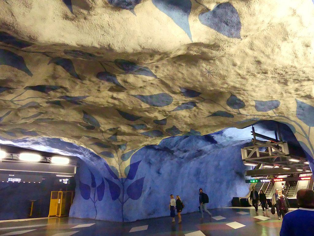 Stockholm Ubahn kunst