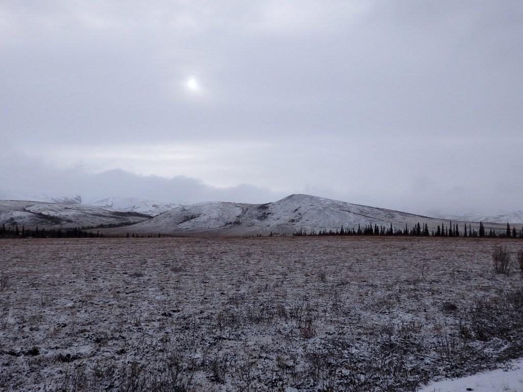 Tundra Yukon Sonne