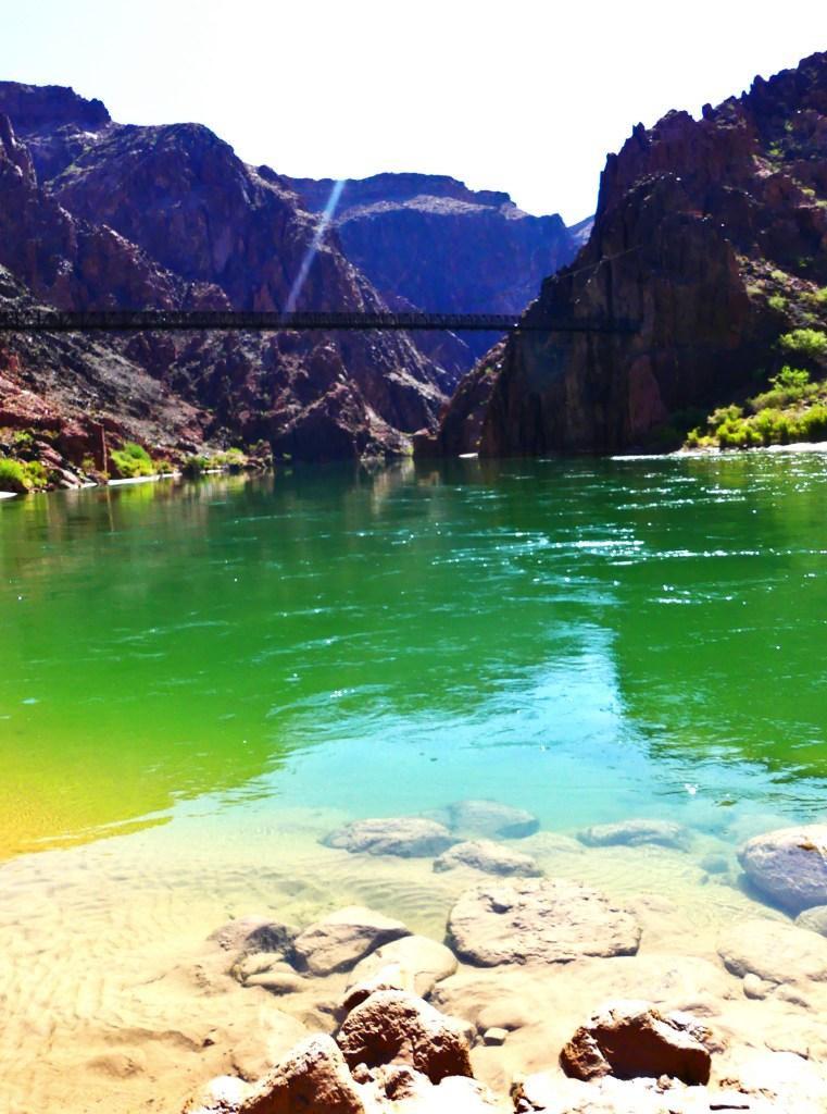 Colorado River zum Abkühlen