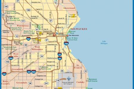 map milwaukee » Free Wallpaper for MAPS | Full Maps