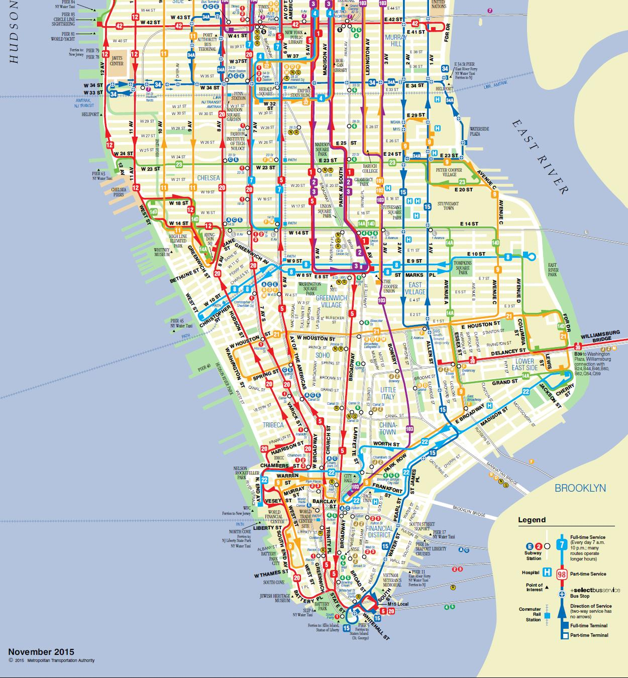 Express Bus Nyc Map.Mta Brooklyn Bus Map Blizzard Beach Map