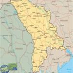 Moldova Map Europe
