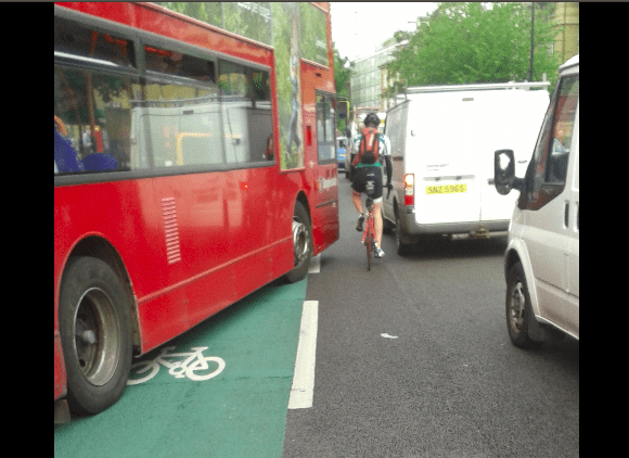 Super cycling in Peckham