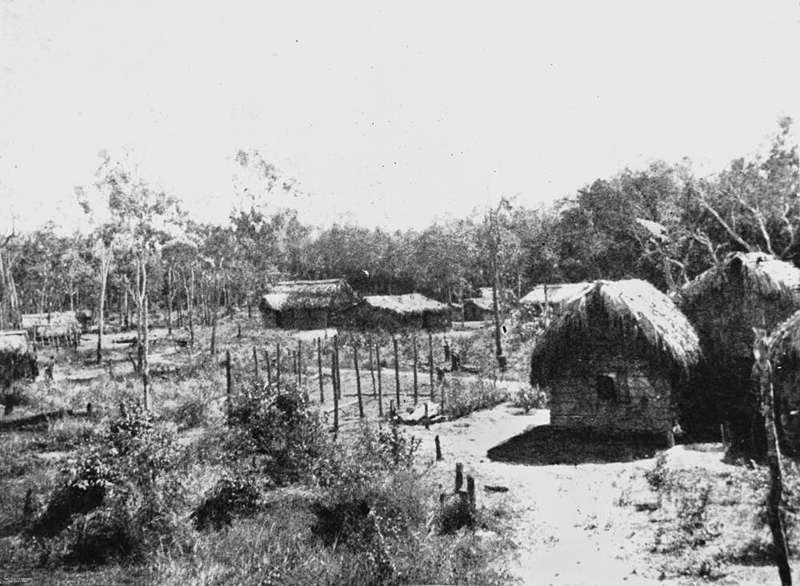Picture of / about 'Mitchell River' Queensland - View of Mitchell River Mission, 1919