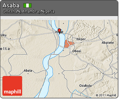 Image result for asaba map
