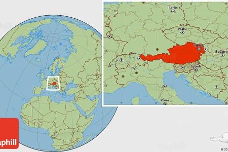 austria location map » ..:: Edi Maps ::..   Full HD Maps