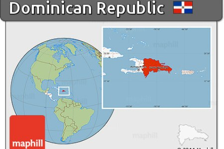 dominican republic location map » Full HD MAPS Locations - Another ...