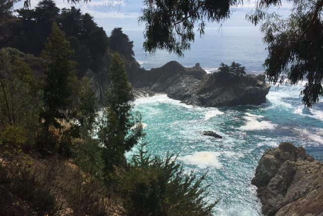 Driving Big Sur - McWay Falls
