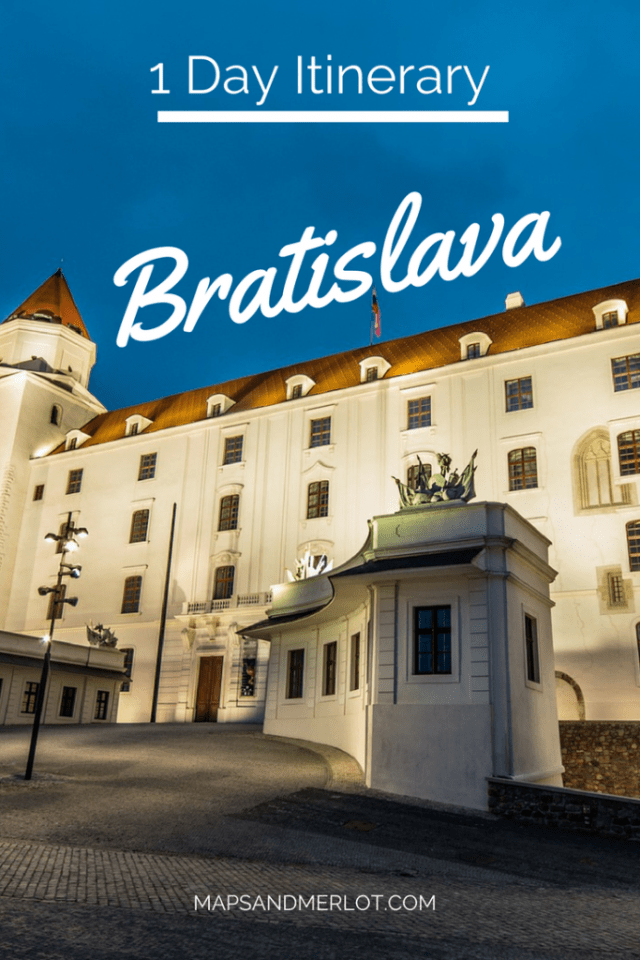 One day in Bratislava, Slovakia. Discover what to do, top attractions, and best photo ops!