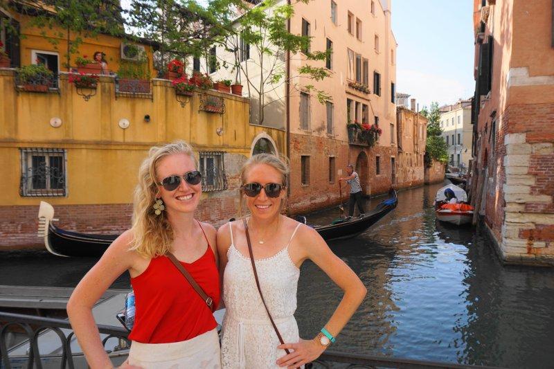 Venice canals gondola