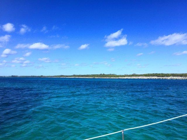 On a boat Nassau, Bahamas
