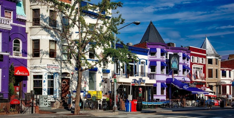 top Washington DC tourist attractions - Adams Morgan