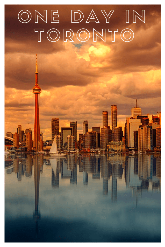 Stuck in Toronto on a long layover? Discover the highlights of what to do and see in the city with 1 day in Toronto, Canada! #traveltoronto #canada