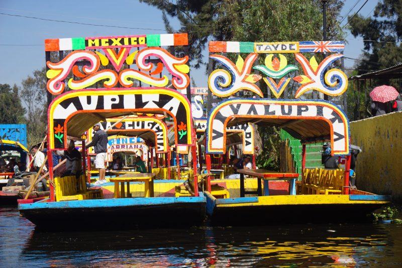 3 day itinerary Mexico City - Xochimilco