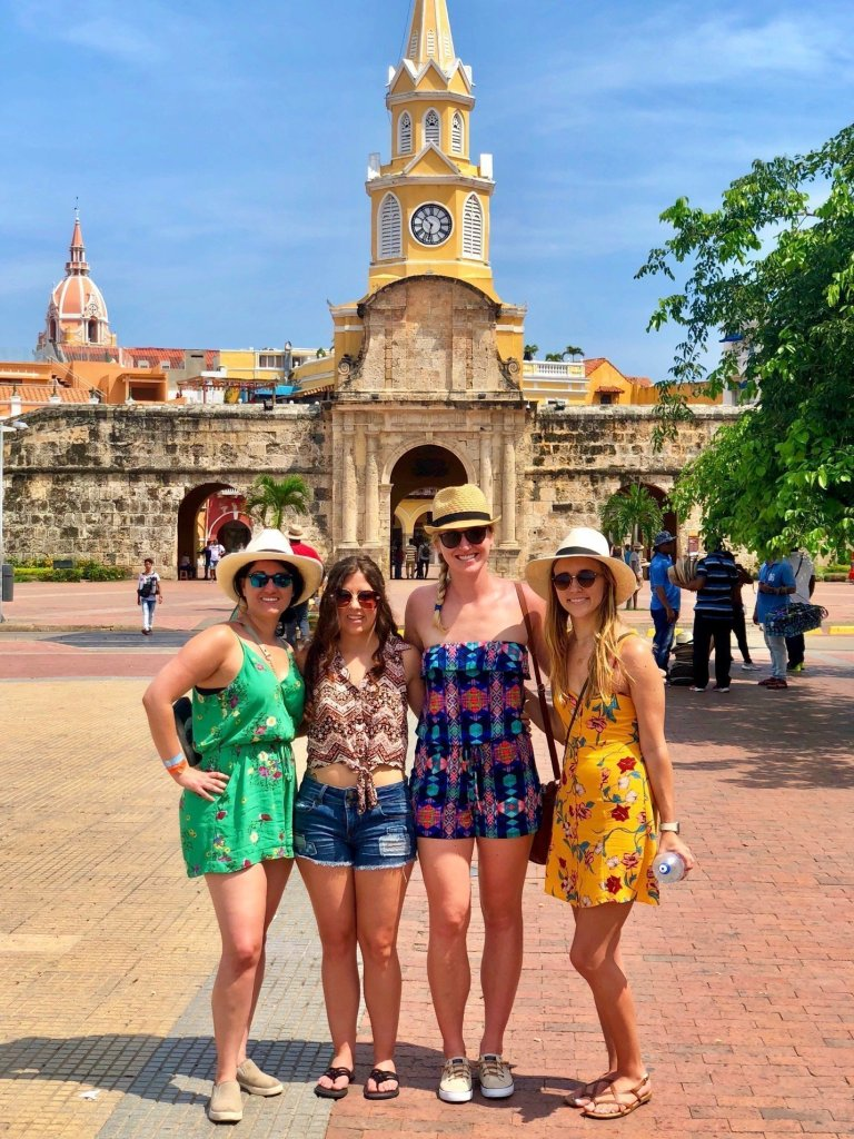 3 days in Cartagena, Colombia | city walls, Cartagena walking tour